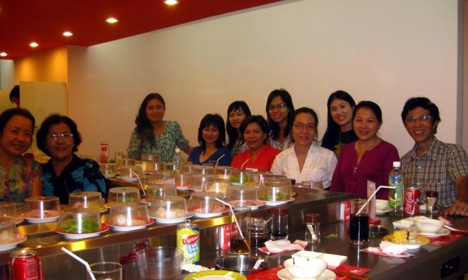 Với Cô Hoài và Thầy Sơn - dịp Oanh Ca sĩ về thăm VN 2009