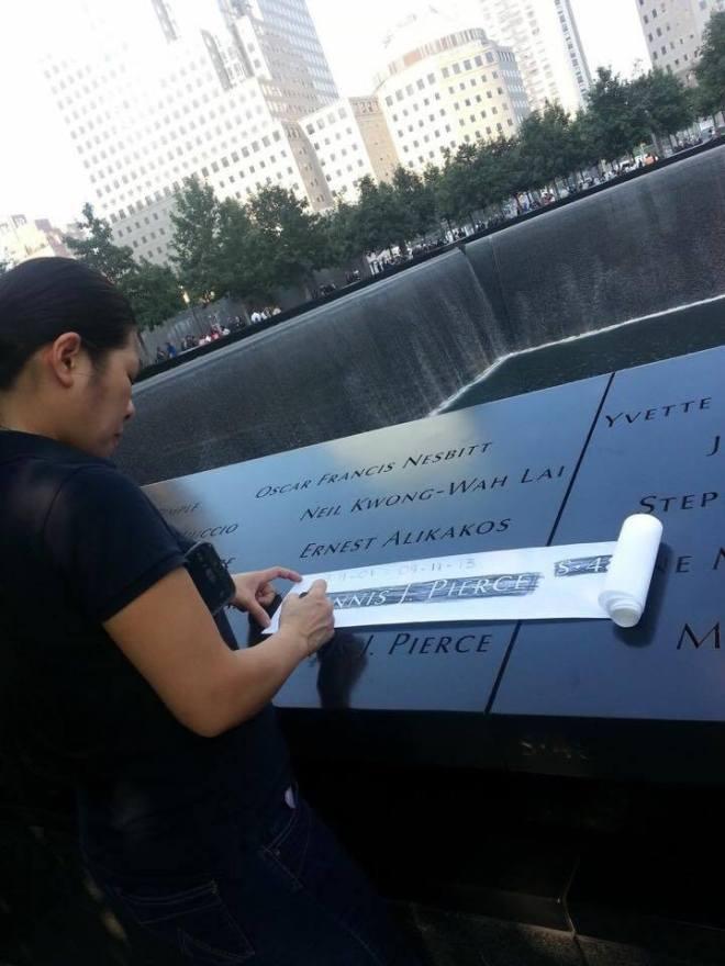 Bạn Diễm Trang của tôi đi thăm người thân ở Ground Zero!
